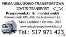 Usługi transportowe PRZEPROWADZKI Warszawa SOLIDNIE OD 1977