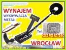 Wynajem wykrywacza wrocław wypożyczenie wykrywacza metali ol Wrocław
