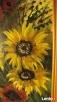 Obraz olejny kwiaty Rabka-Zdrój