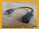 Przedłużacz Micro USB 20cm do tablet , telefon - OTG Piastów