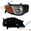 L200 L-200 Reflektor Lampa PRAWA Parchowo