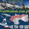 Busy do Holandii z Olsztyna i okolic z adresu pod adres Olsztyn