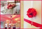 Dekorowanie sal weselnych, kościołów i samochodów - 6