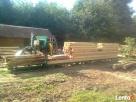 Przecieranie drewna-Trak przejezdny Siemiatycze