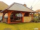 Garaż drewniany, garaże drewniane projekt wiata samochodowa - 3
