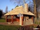 Garaż drewniany, garaże drewniane projekt wiata samochodowa - 2