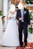 Koronkowa suknia ślubna-okazyjna cena - 1