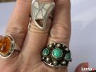 8,5 gram Srebrny pierscionek z masa perłowa piekny poł palca - 4