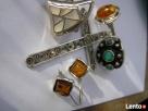 IMAGO ARTIS NavajoSrebrna biżuteria stara PIERSCIONKI turkus - 5