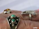 IMAGO ARTIS NavajoSrebrna biżuteria stara PIERSCIONKI turkus - 8