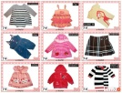 56-62-68-74-80 cm śliczne ubranka dziewczynka 0-3-6-9-12 m-c Szczecin