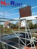 Rusztowania 102m2, sys. Plettac, podesty drewniane (3,00m) - 3
