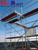 Rusztowanie sys. Plettac, 82m2, podesty drewniane (2,5m) Barcin