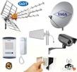 ANTENY RTV SAT GSM LTE 4G WiFi, KAMERY, SIECI, ALARMY ,,,,,, Lublin