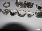 Srebrne pierscionki i nowe Warmet i Apart z rubinem srebro - 8