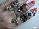 Srebrne pierscionki i nowe Warmet i Apart z rubinem srebro - 2