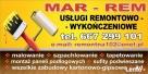 Usługi remontowo wykończeniowe MAR-REM Żukowo