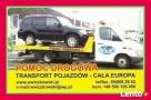 Laweta, autopomoc, transport towarów, samochodów, łodzi  Lębork