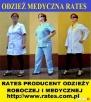 Odzież Robocza i Medyczna firmy RATES zaopatrzenie firm Dynów
