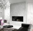 Cegła z Fugą - Panele 3D - Kamień Dekoracyjny - Płytki Cegły - 4