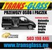 TRANS GLASS PRZEWÓZ OSÓB/PACZEK NIEMCY HOLANDIA BELGIA ANGLI