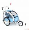 Przyczepka rowerowa 2 osobowa + jogger /czerwona i niebieska - 2