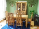 drewniany rozkładany stół nogi proste meble kolonialne mango - 8