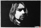 Kurt Cobain - Obraz ręcznie grawerowany na blasze... - 1