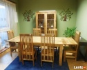drewniany rozkładany stół+6 krzeseł komplet meble kolonialne - 6