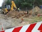 koparko ładowarka, przyłącza wodne, kanalizacyjne,melioracja Szczecin