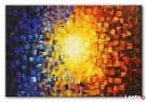 obraz olejny abstrakcja 80 x 120 cm duży wybór Limanowa