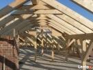 Konstrukcje dachowe, Więźba, krokwie, kantówki, drewno Reda