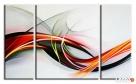 obraz olejny abstrakcja 60x70cm+ 20x60cmx2 duży wybór Limanowa