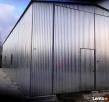 Garaże blaszane HALE WIATY 7x17 WZMOCNIONY BLACHMAR - 6