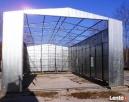 Garaże blaszane HALE WIATY 7x17 WZMOCNIONY BLACHMAR - 2