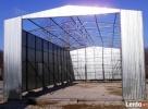 Garaże blaszane HALE WIATY 7x17 WZMOCNIONY BLACHMAR - 4