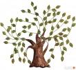 dekoracja ścienna ozdoba metalowe drzewko 69x80 cm Limanowa
