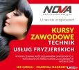 NOVA! Technik fryzjer z usługami barber shop
