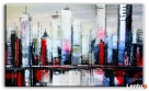 duży obraz olejny abstrakcja 195x115cm Limanowa