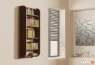 Półka Detalion na ścianę pionowa na książki drobiazgi - 5