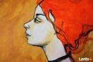"""Akryl na płótnie - obraz """"ZWIERZĘ MOCY"""" artystki A. Laube - 2"""