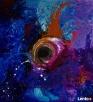 Akryl na płótnie,obraz POLE MOŻLIWOŚCI artystki A. Laube - 1