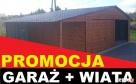 GARAŻ DREWNOPODOBNY 6x5 kolor ORZECH plus WIATA!! - 4
