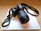 Zestaw Nikon D3100 + Nikkor 18-105 VR - przebieg 6850 - idea