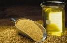 Ukraina. Len mielony 1 zl/kg,maka z nasion,ekstrahowany olej