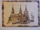 Cerkiew Sądecka -Dekoracja Regionalna Obraz wypalany - 1