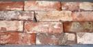 CEGŁA cięta lico ELEWACJA cegły STARY MUR