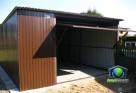 Garaże blaszane 4x5 Blaszaki RAL dostawa i montaż gratis - 2