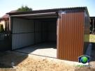 Garaże blaszane 4x5 Blaszaki RAL dostawa i montaż gratis - 3