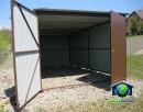 Garaże blaszane 3x5 Blaszaki Brąz transport i montaż gratis - 4